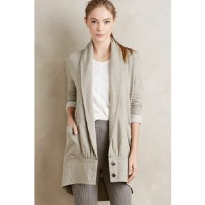 Anthropologie Pure & Good cocoon wrap cardigan